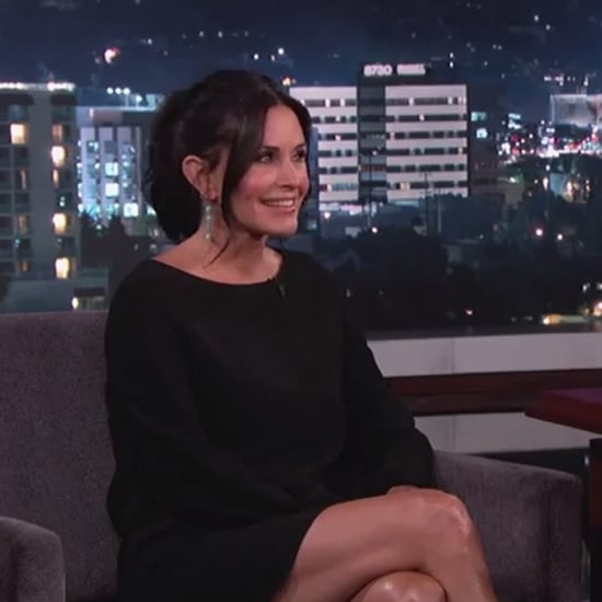 Courteney Cox on Jimmy Kimmel Live September 2014 | Video
