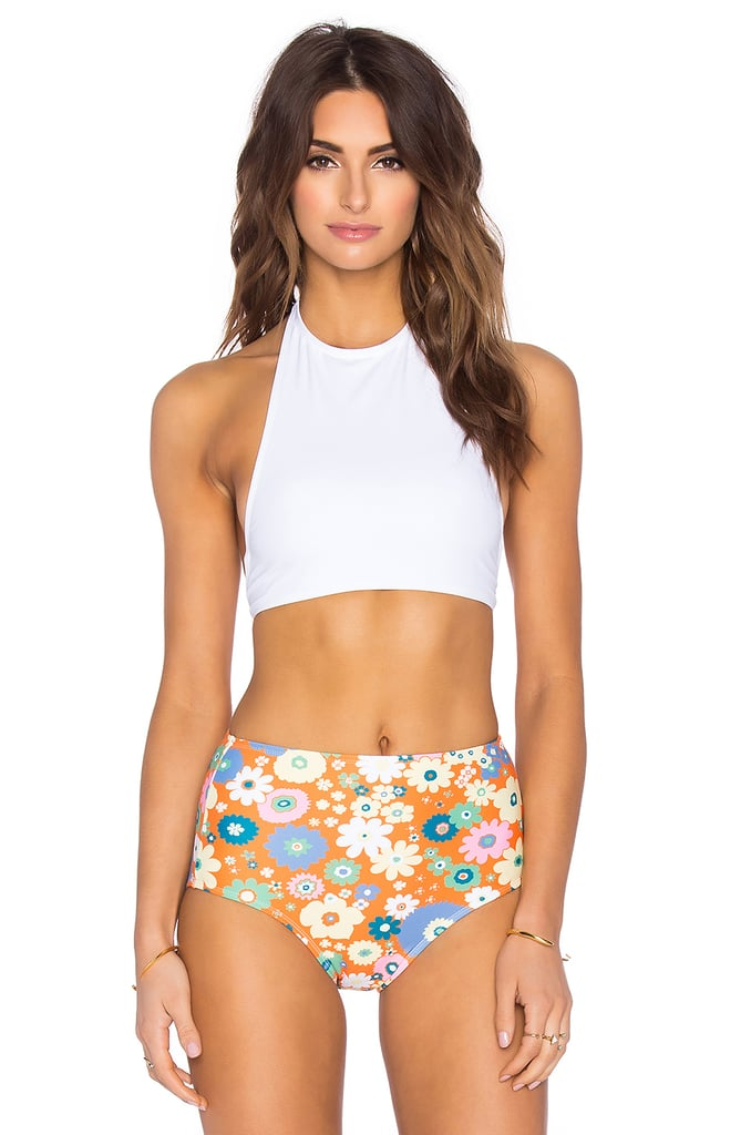 Motel On Point Bikini Top ($35) and Grazer Bikini Bottom ($28)