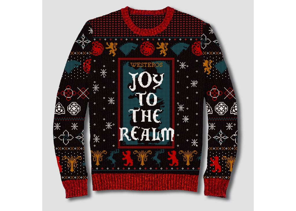 game of thrones joy to the realm sweater - Feel The Joy Christmas Sweater
