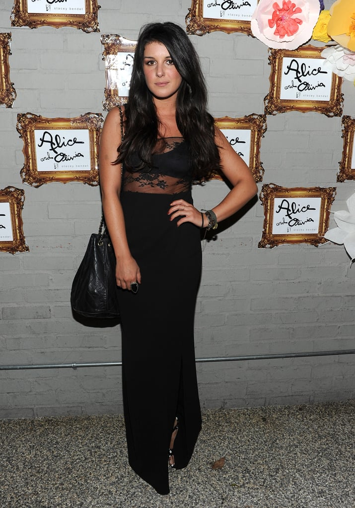 Shenae Grimes at an Alice + Olivia party.