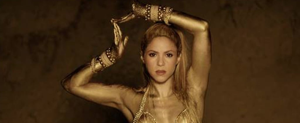"Shakira Is the True Definition of a Golden Goddess in Her ""Perro Fiel"" Music Video"