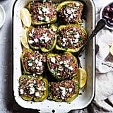 Turkey Quinoa Stuffed Bell Peppers