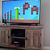 This is one Super Mario level you can't beat.