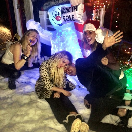 Ashlee Simpson's Christmas-Themed Birthday Party | Pictures