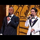 "Lin-Manuel Miranda, Alex Lacamoire, and Christopher Jackson Perform ""One Last Time"" From Hamilton"
