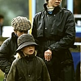 Princess Anne at the 1987 Royal Windsor Horse Show With Her 2 Children