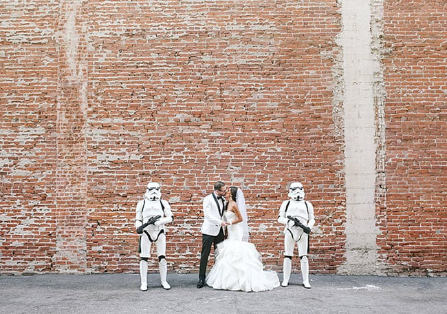 Star wars wedding ideas popsugar tech what an epic star wars wedding looks like junglespirit Gallery