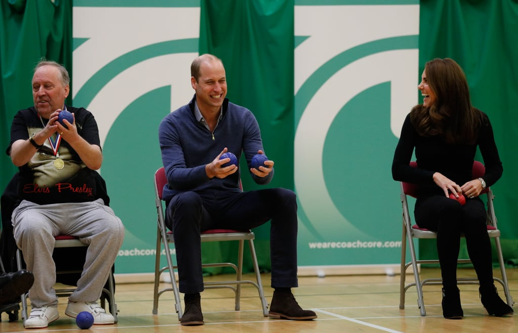 Prince William and Kate Middleton at Coach Core Essex 2018