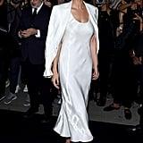 Lily Aldridge at the Ralph Lauren New York Fashion Week Show