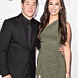 Adam DeVine and Chloe Bridges