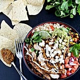 Chipotle Pesto Chicken Burrito Bowls