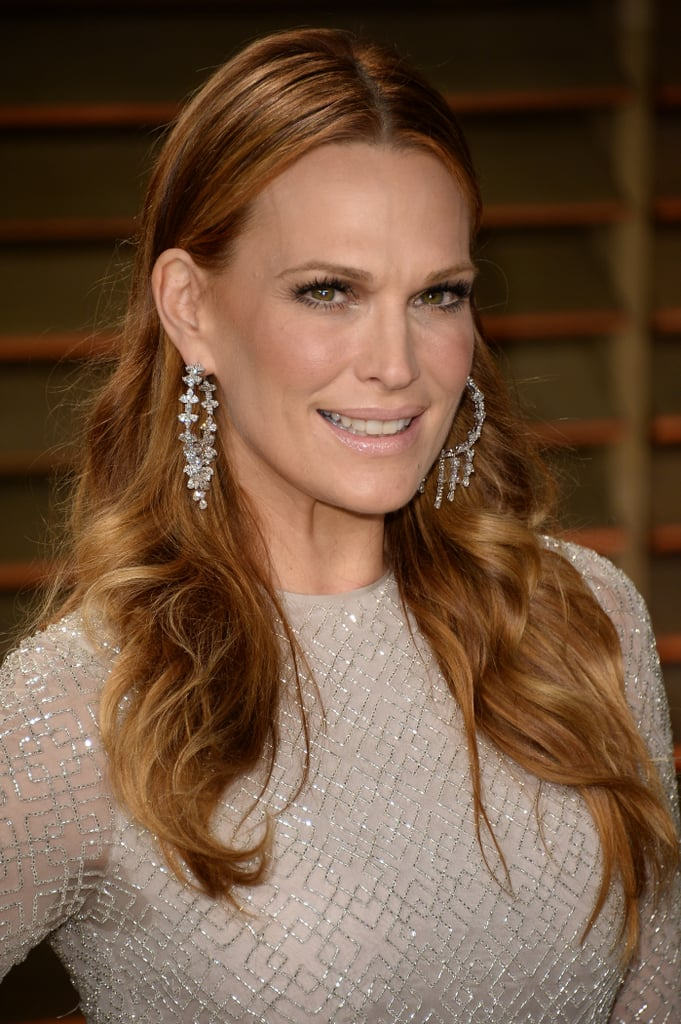 Molly Sims at Vanity Fair Party