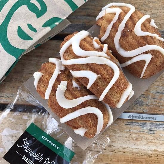 Starbucks Pumpkin Spice Madeleines