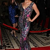 Crystal Renn sparkled from head to toe in a mosaic Gabriela Cadena gown and  Lorraine Schwartz rubies at the annual New Yorkers for Children Gala.
