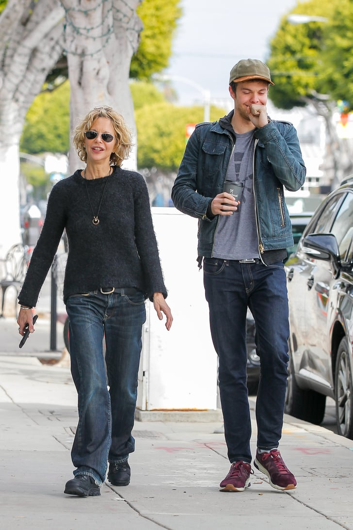 Meg Ryan and Son Jack in LA January 2016 | POPSUGAR Celebrity Photo 6