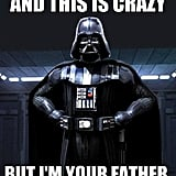 "Viral pop songs always sounds better out of context. The Cheezburger  Star Wars meme site created a ""Darthly Rae Jepsen"" meme, illustrating big plot moments with catchy pop song lyrics."
