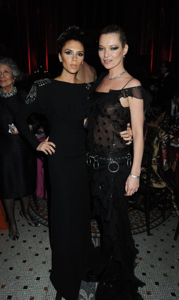 Victoria Beckhan, Kate Moss