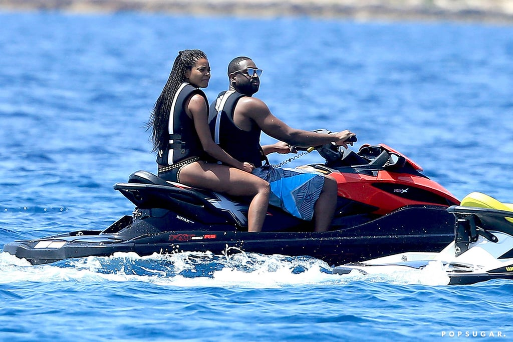 Dwyane Wade and Gabrielle Union in Spain Pictures July 2016