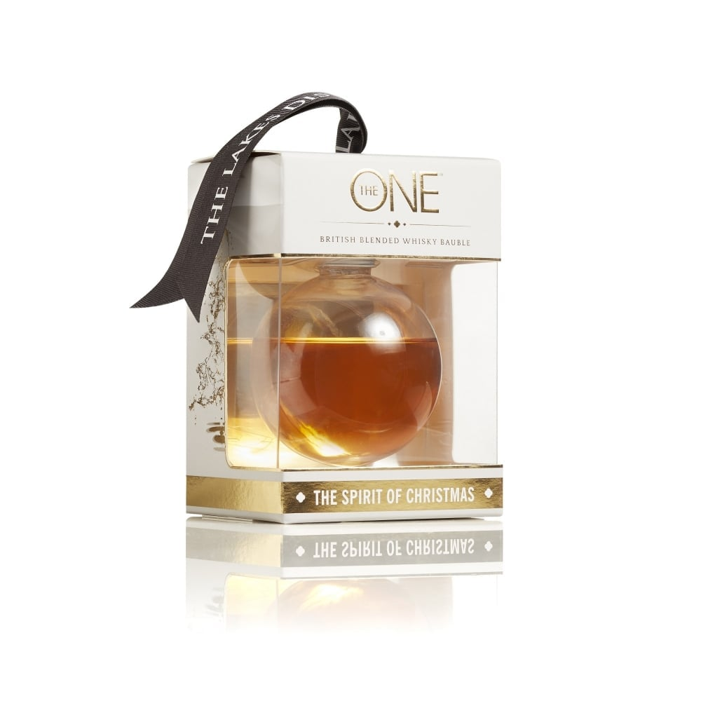The One British Blended Whiskey Bauble ($24)