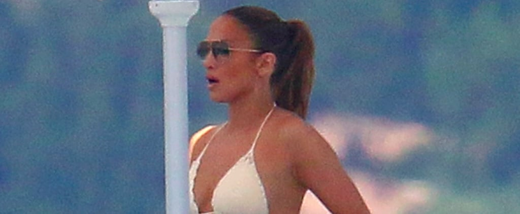 Jennifer Lopez Flaunts Her Famous Booty in the South of France