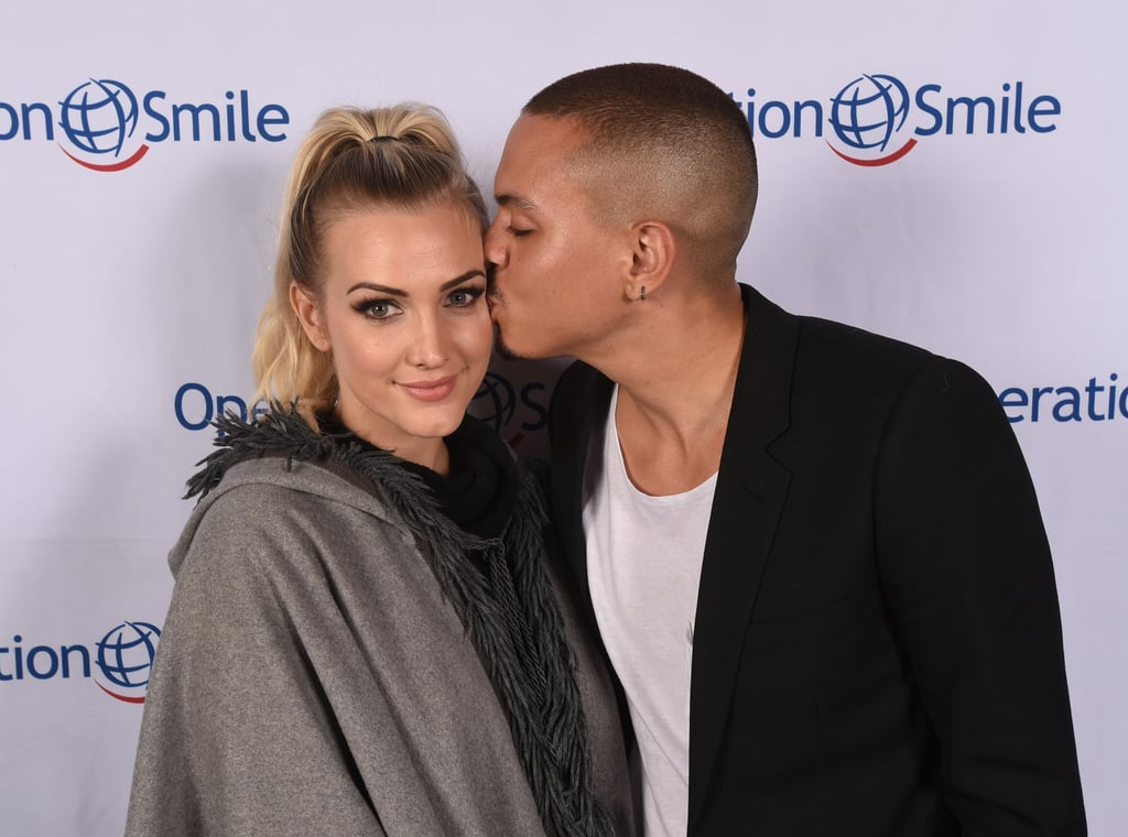 Ashlee Simpson and Evan Ross looked so in love at Operation Smile's annual ski benefit in Park City, UT, on Saturday. The couple, who tied the knot in August 2014, could not keep their hands — or lips — off each other while helping to raise money for the nonprofit medical service organization. On top of pouring on the PDA, Ashlee also brought along her daughter, Jagger, whom she shared a snap of on Instagram, and met up with Lady Gaga, who was joined by her other half, Taylor Kinney. The last time these two stepped out on a red carpet together was at Elton John's Oscars bash back in February. Keep reading to see more of the duo, and then check out their sweetest family moments.