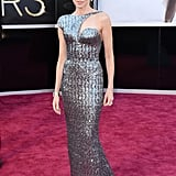 Naomi Watts on the red carpet at the Oscars 2013.