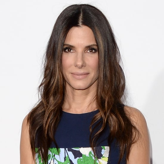 Sandra Bullock Rescues Extra on Our Brand Is Crisis Set
