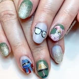 This Nail Art Inspired by A Christmas Story Is Festive as Fudge