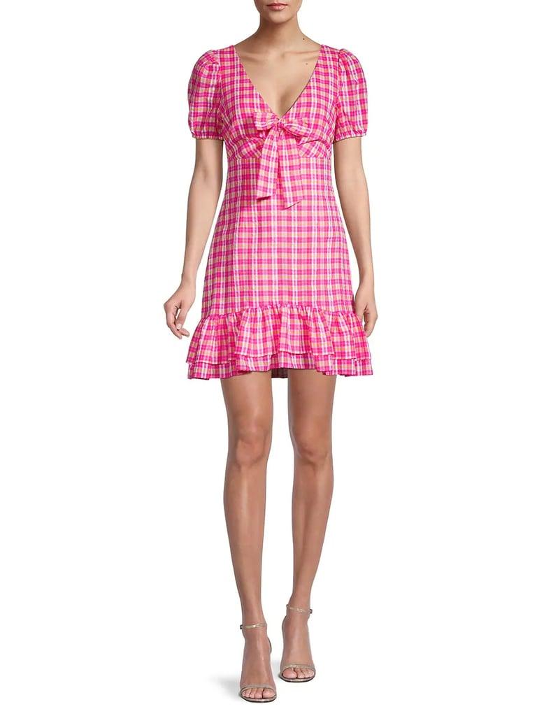 Likely Kai Plaid Mini Dress