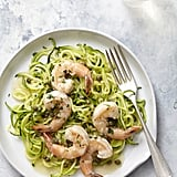 Shrimp Piccata on Zoodles