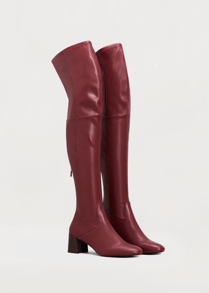 Violeta By Mango Over the Knee Boots