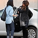 Pictures of Pregnant Penelope Cruz Shopping in LA