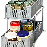 Simple Houseware 2-Tier Sliding Cabinet Basket