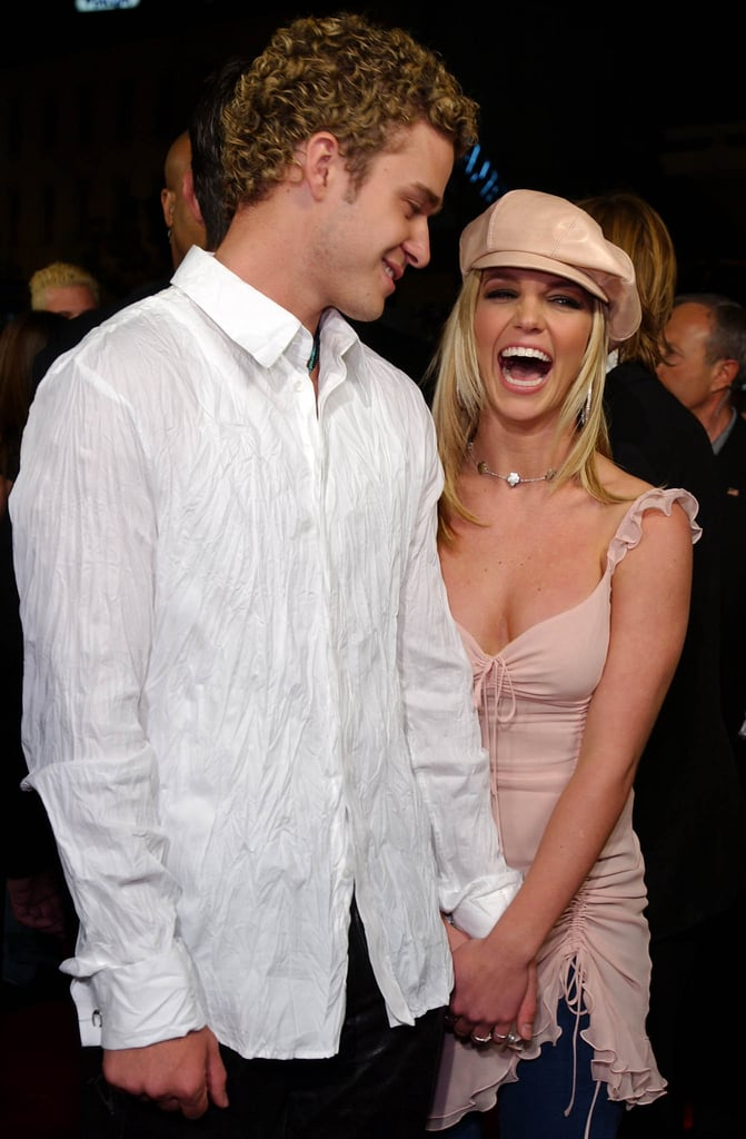 britney spears and justin timberlake throwback pictures popsugar