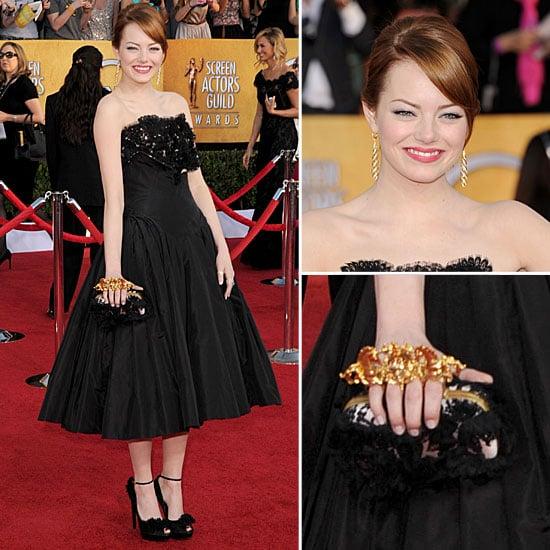 Emma Stone at the SAG Awards 2012