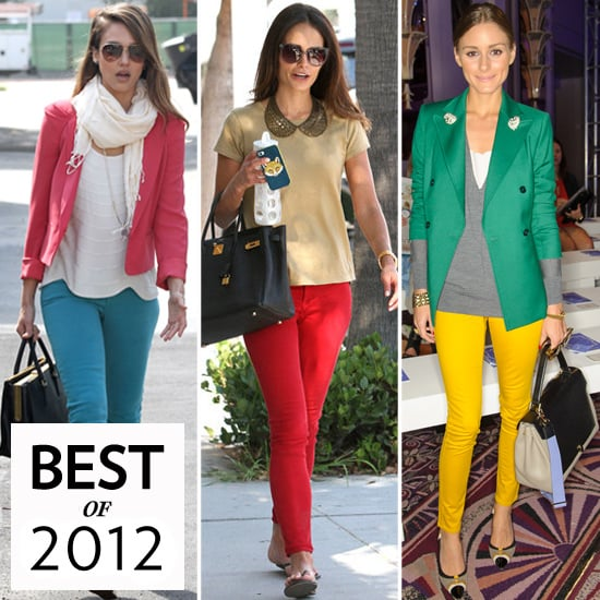 Colored Jeans (Celebrity Pictures and Shopping)