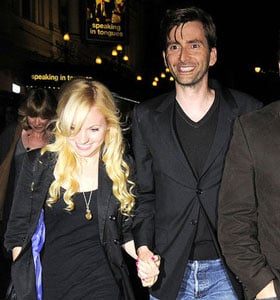 Pictures of David Tennant Engaged to Georgia Moffett