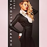 Beyoncé sent holiday wishes to all her fans! Source: Instagram user beyonce