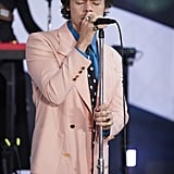 Pictures of Harry Styles on the Today Show