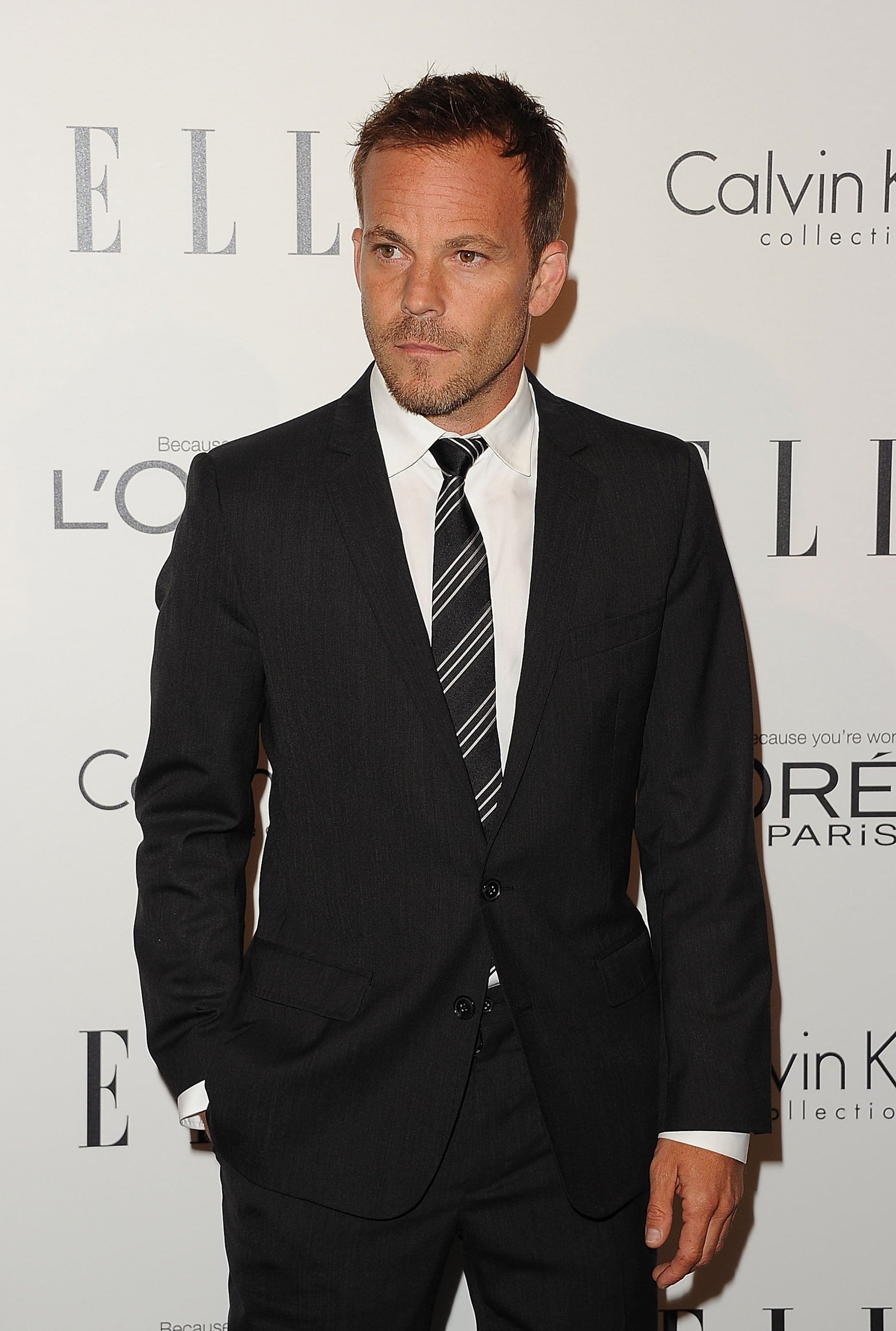 Stephen Dorff kept it simple on the red carpet.
