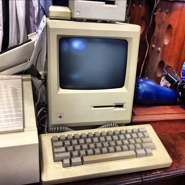 Typing on Old-School Macs