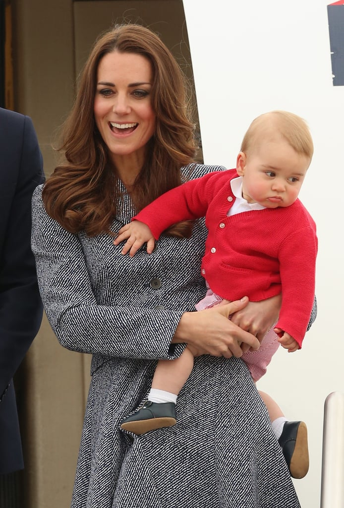 Prince George and Princess Charlotte First Royal Tour