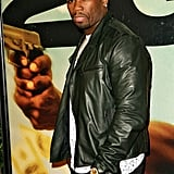 50 Cent was on the red carpet for the NYC premiere.