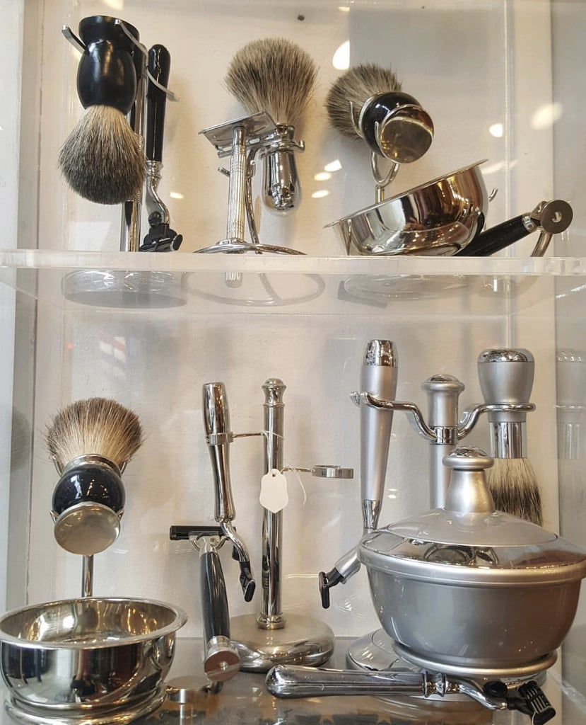 Tools Used at Blueprint's Barber