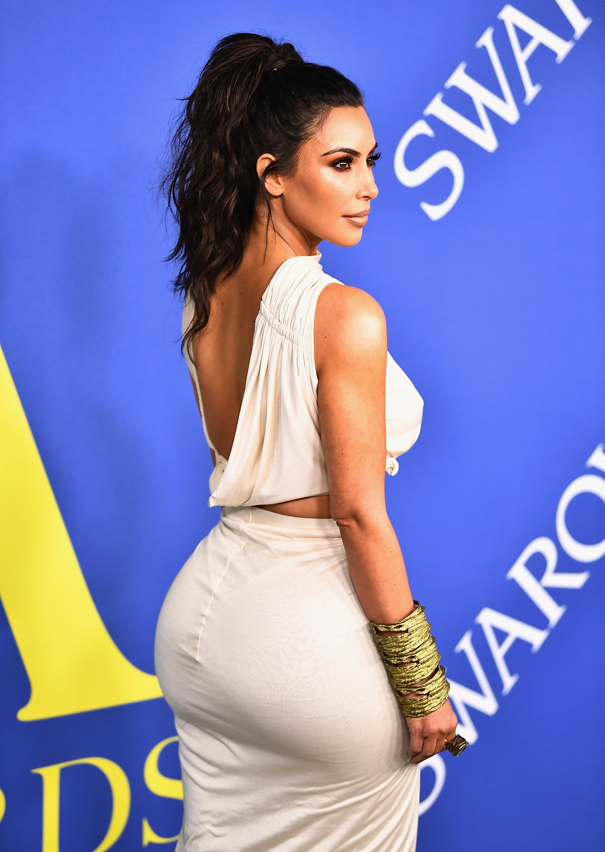 NEW YORK, NY - JUNE 04:  Kim Kardashian West attends the 2018 CFDA Fashion Awards at Brooklyn Museum on June 4, 2018 in New York City.  (Photo by Dimitrios Kambouris/Getty Images)
