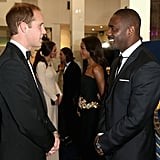 William and Idris Elba