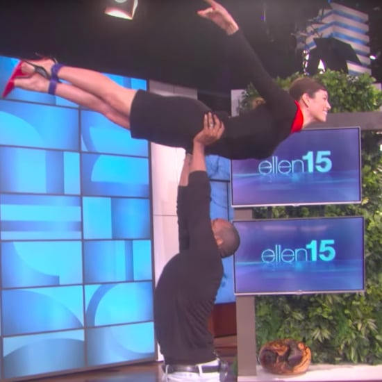 Jessica Biel Dirty Dancing on Ellen Video