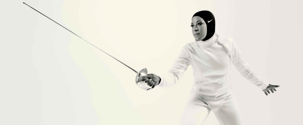 Ibtihaj Muhammad Could Only Think of 1 Way to Stay Covered Before the Nike Pro Hijab and It Involved Her Bra