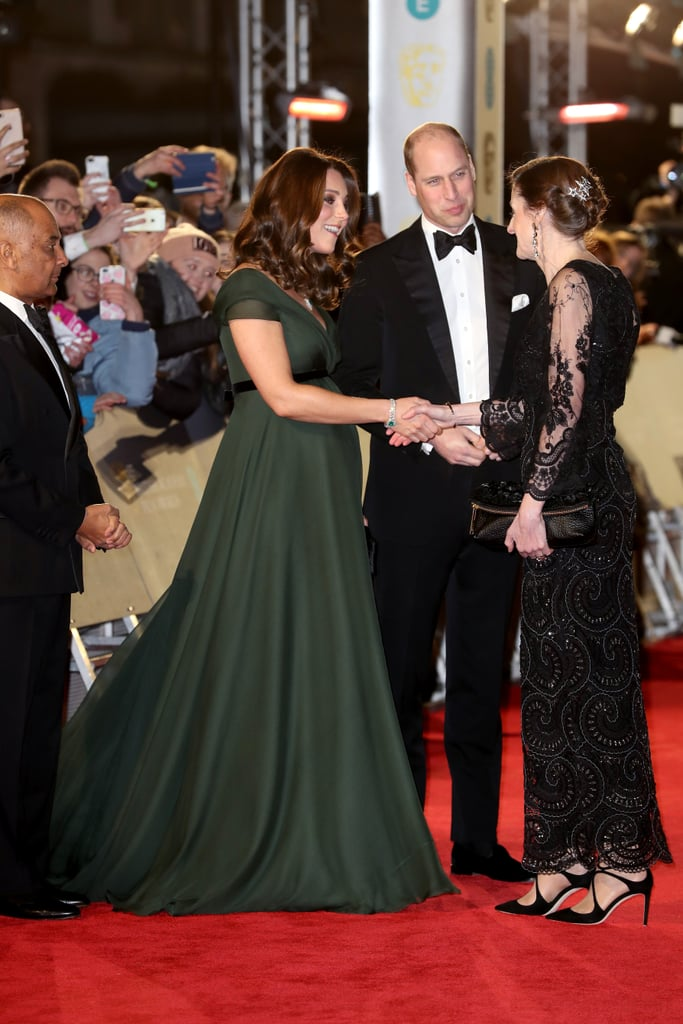 Prince William and Kate Middleton at the BAFTA Awards 2018