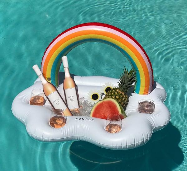 Funboy Rose Pool Float Popsugar Home